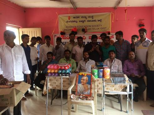 15.8.17 Distribution of basic things to orphans and old age home 1