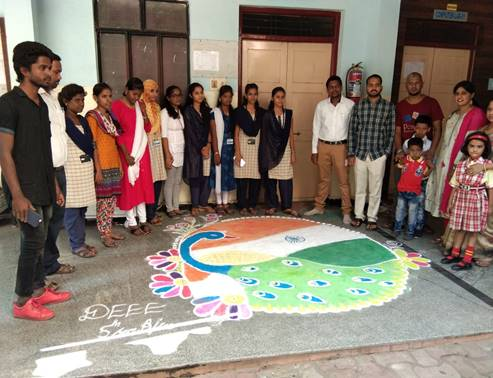15.8.19 Rangoli competition 1