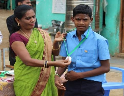 14.8.18 Distribution of medals to orphans 2